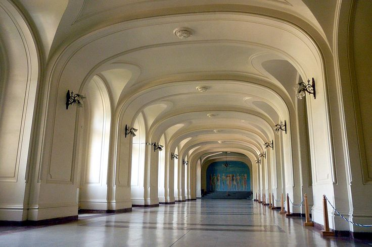 Hall of Lost Steps, University of Iasi, Romania. I have to post this as My dearest Petru attends Law here. <3