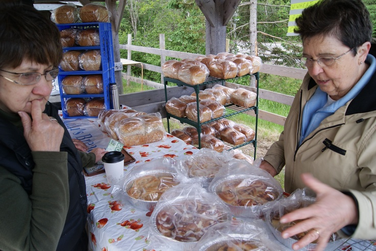 Tough decision. Which of Lulu's breads to choose? | New Ross Country Farmers' Market