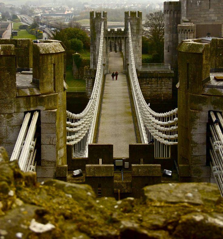 Castillo de Conwy, Gales
