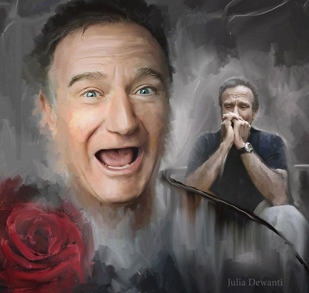 RIP Robin Williams A Worldwide Tribute To Robin Williams by Artists