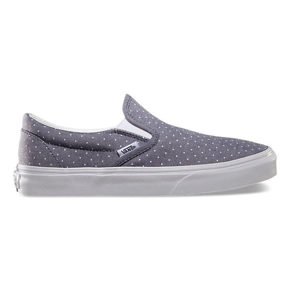 Chambray Dots Slip-On | Shop Womens Shoes at Vans