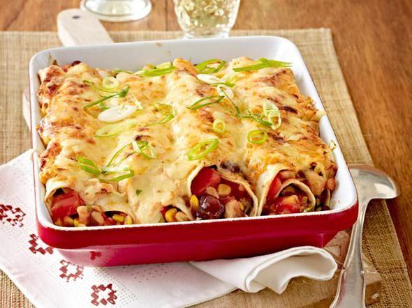 Enchiladas mit Hähnchen - so geht's