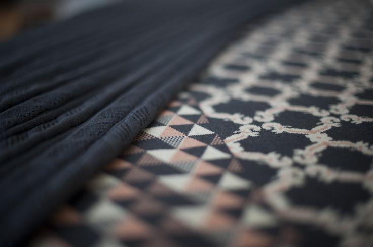 Garrido White Knit Detail Collection