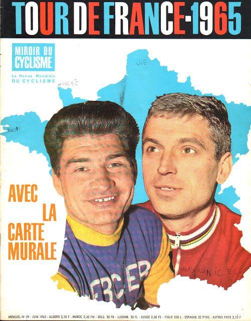Mon Tour de France 1959 : la suite: Poulidor à la une de Miroir du Cyclisme (3)