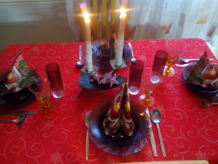 vánočně prostřeno
