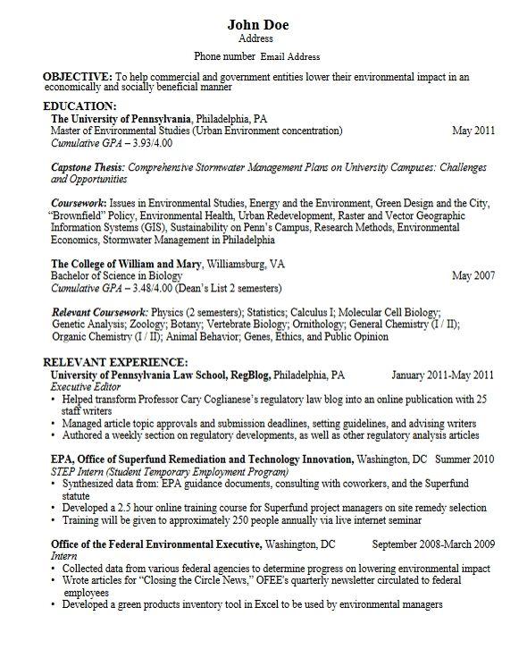 Cv Sample For Graduate School Cv Example For Graduate Students Resume For Graduate School Student Resume Student Resume Template