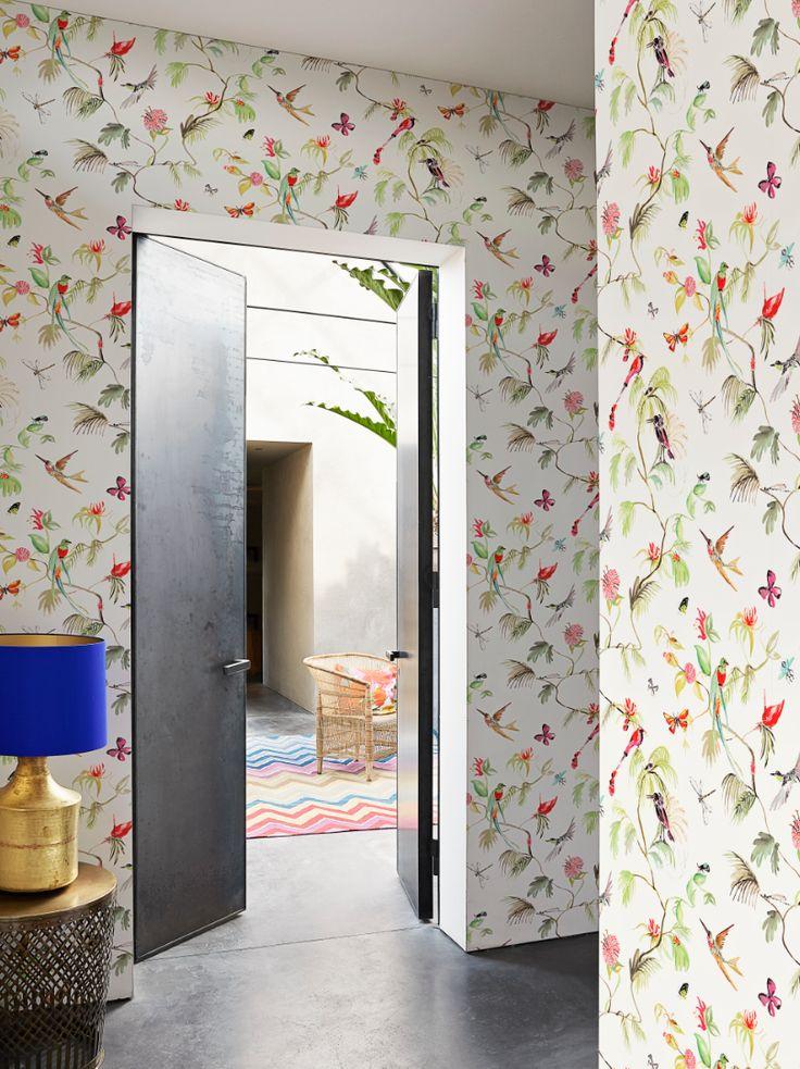Tropisch Behang / Tropical Wallpaper collection Designed for Living - BN Wallcoverings