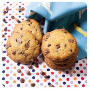 Cookies de gotinhas de chocolate   Vídeos e Receitas de Sobremesas
