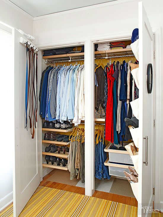 706 best images about closet inspiration on pinterest for Maximize small closet