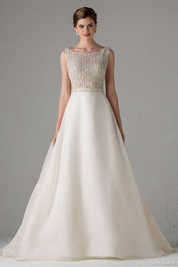 Anne Barge Fall 2015 Wedding Dresses | Wedding Inspirasi