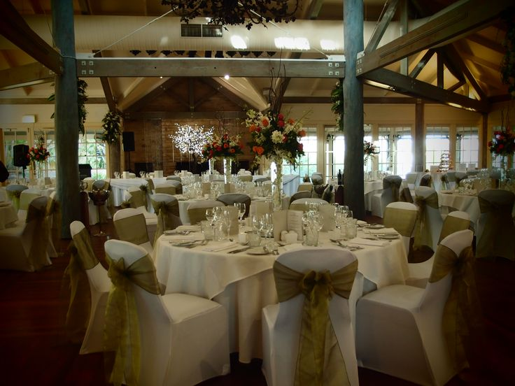 Wedding styling in The Grange at InterContinental Sanctuary Cove Resort