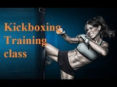 kickboxing training for beginners - kickboxing workout - kickboxing heavy bag class part 1 - YouTube