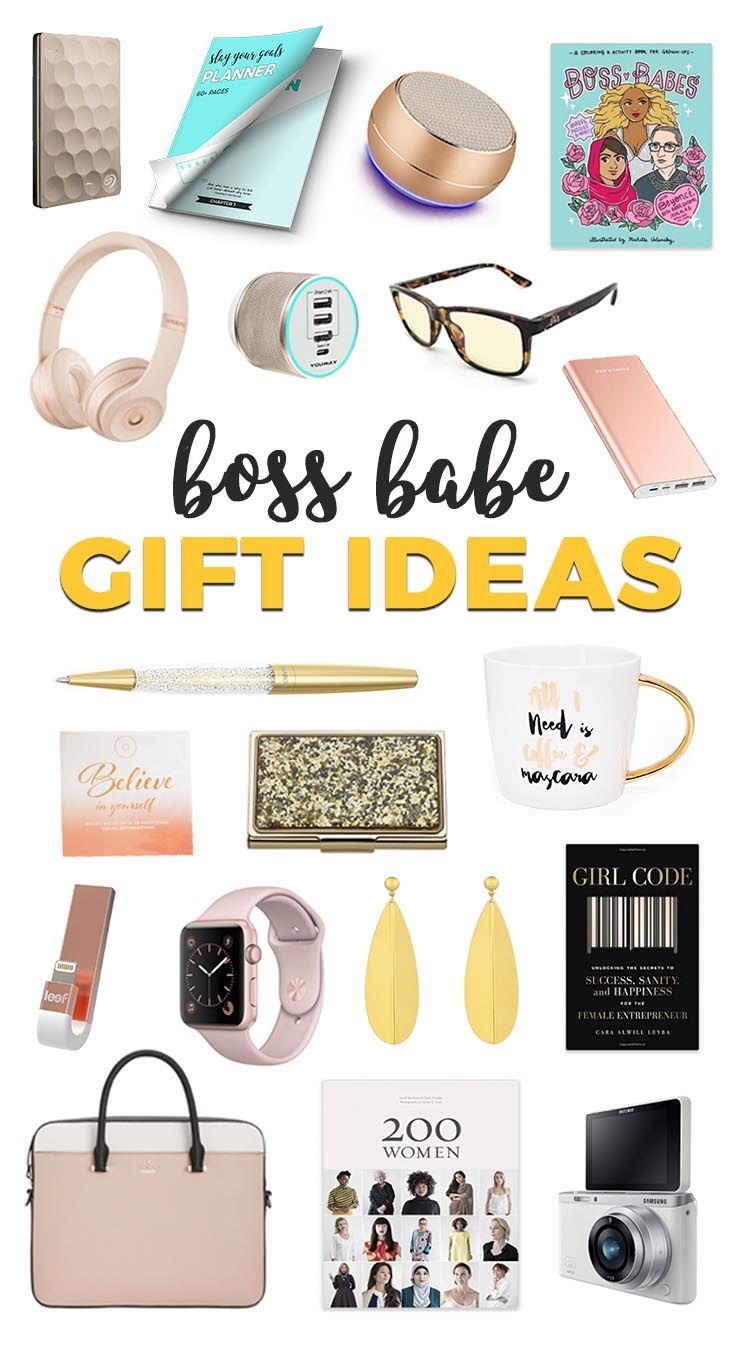 Gift Ideas for the Boss Babe in Your Life