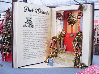 Cadbury Garden Centre book displays. (source: A Blackbird's Epiphany)