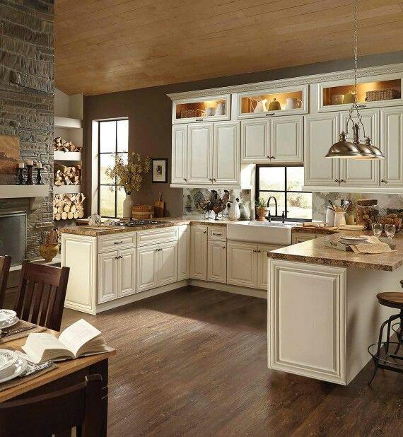 best 25 ivory cabinets ideas on pinterest ivory kitchen cabinets subway backsplash and. Black Bedroom Furniture Sets. Home Design Ideas