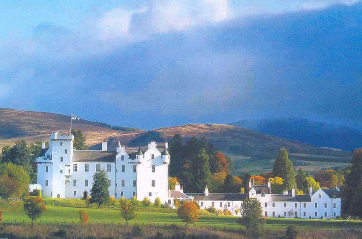 Blair Castle in Scotland!