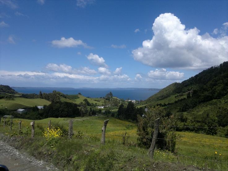 Tenaun, Chiloé. Chile.