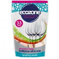 Ecozone Brilliance All in One Dishwasher Tablets - 33 - Ecozone