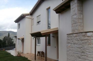 Houten frame met stucwerk | Ενεργειακά ξύλινα σπίτια - προκάτ κατασκευές με ξύλο