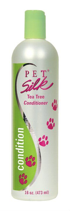 Tea Tree Conditioner  Tea Tree gently cleanses  and moisturizes your pet's coat while also working to  sooth and heal dry, itchy skin, hot spots and skin  irritations Tea Tree Oil is a natural oil with many  remarkable properties It acts as a natural deodorant,  antiseptic and bug repellent. Tea Tree Shampoo and  Conditioner is ideal for sensitive skin. Maintain a beautiful coat while also taking special care of the  skin   **Available in 16 oz, 1 & 2.5 gal. sizes   **Can be diluted up to…