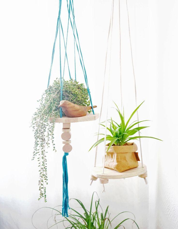 Image of Suspension/étagère pour plantes Trapilho