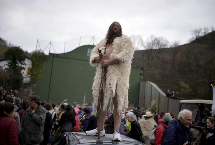 """Los carnavales del Pirineo navarro en la prensa internacional, incluso definidos como """"especialmente horribles"""""""