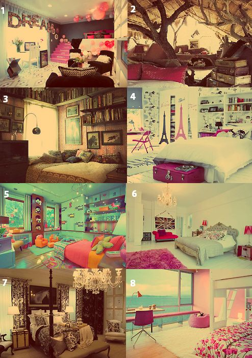 (10) tumblr rooms   Tumblr  These are all so cute! I'd love to have the second one...or any of them!!!