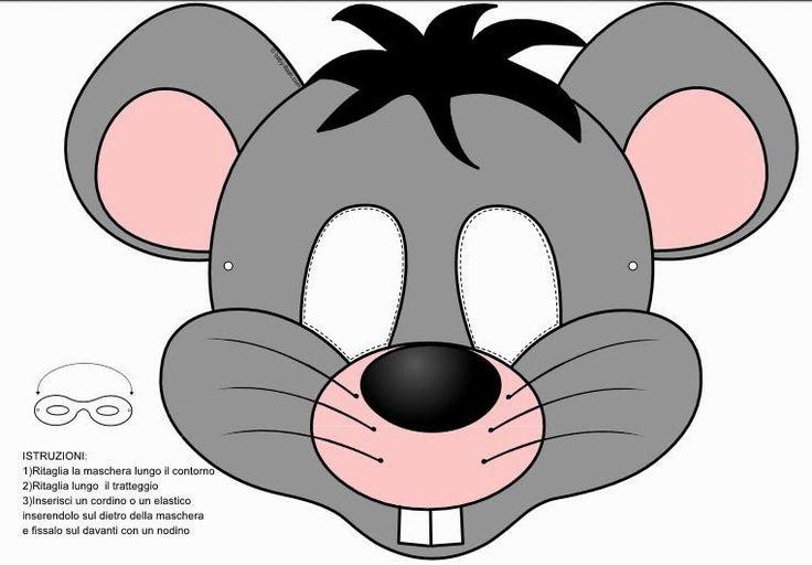 Moldes Para Hacer Una Mascara De Raton