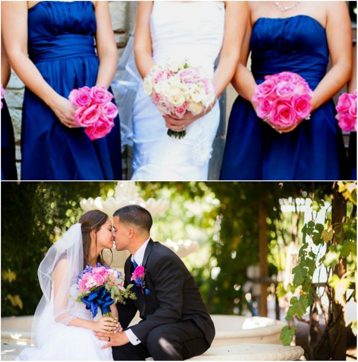 Blue And Pink Wedding Ideas: 133 Best Images About Royal Blue Wedding Theme On
