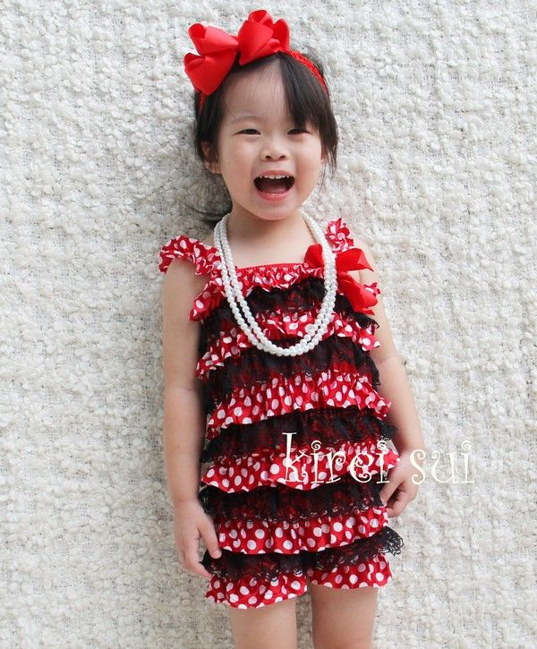 $20 disney minnie mouse princess Lace Petti Romper with Straps. Perfect for a photo shoot with your little princess! Also super cute for birthdays, dress up, holidays, and any other day of the week photoshoot Tags  Children Clothing children kids lace petti romper photo prop infant baby pictures girl satin outfit birthday photography vintage ruffle rompers for babies cute baby headband pettiromper flower footless sandals birth announcements www.etsy.com/shop/littlemissfairytale