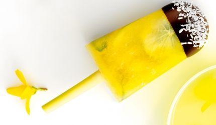 Opskrift: Hjemmelavet ispind med ananas, lime og mynte | I FORM