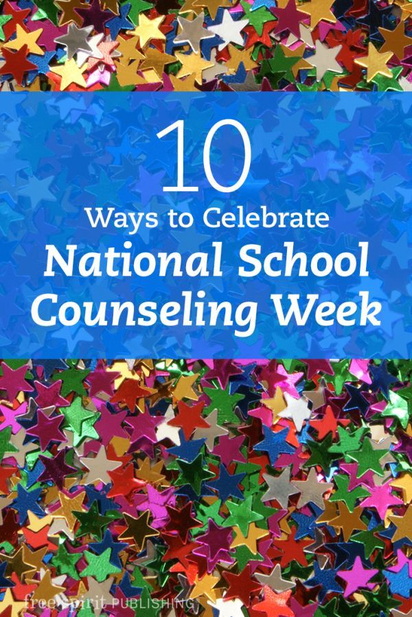 10 Ways to Celebrate National School Counseling Week
