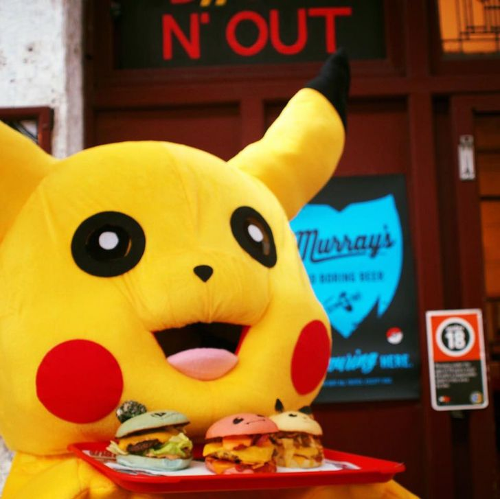 Down N' Out Is Serving Limited Edition Pokéburgs and They Are Cute AF