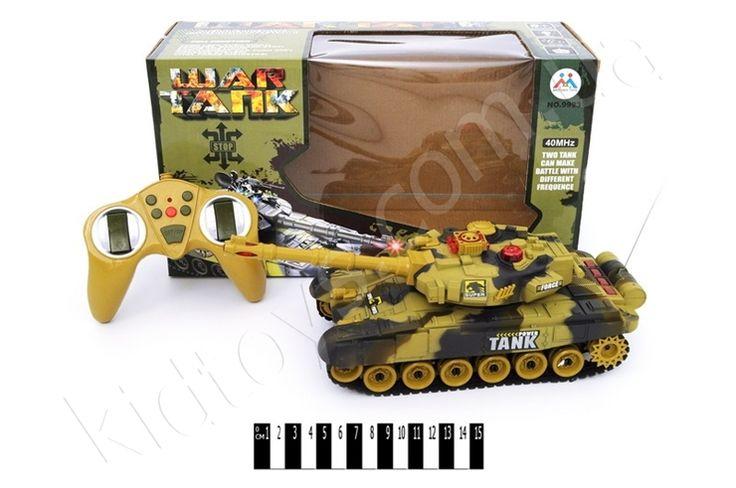 Танк (радіо) коробка 9993, мир детских игрушек, полесье игрушки, коляски для кукол фото, детские игры для детей, куклы барби, человек паук игрушки купить