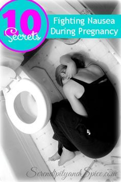 Fighting Nausea During Pregnancy...morning sickness relief secrets