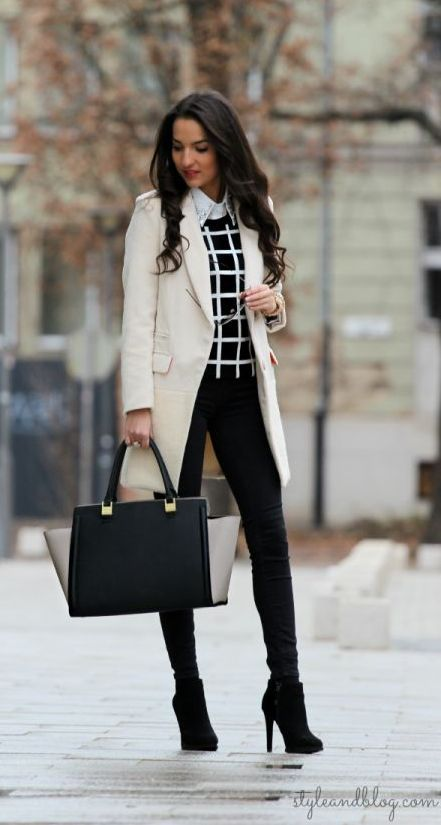 black & white. classy!
