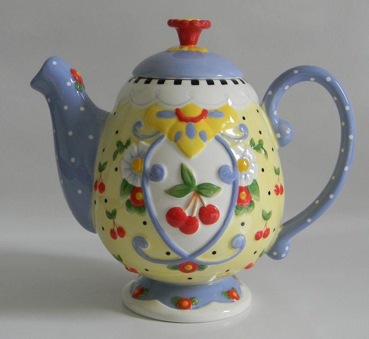 122 Best Mary Englbeit Tea Pots Images On Pinterest Tea
