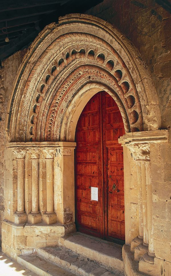 Visitar el territorio de Soria Románica - Las portadas - Soria Románica