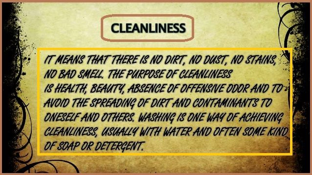 Slogans On Cleanliness In English Cleanliness Quotes