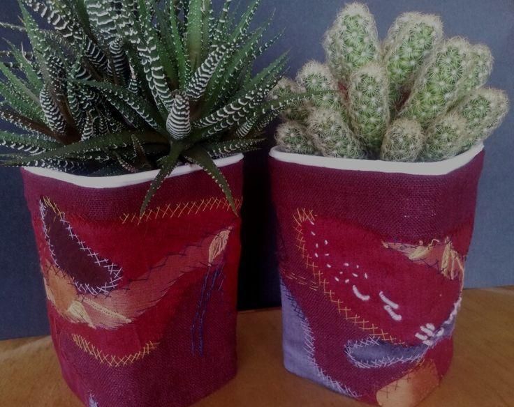stitched raisinjars   by makrilri