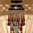 светильник из цепочек