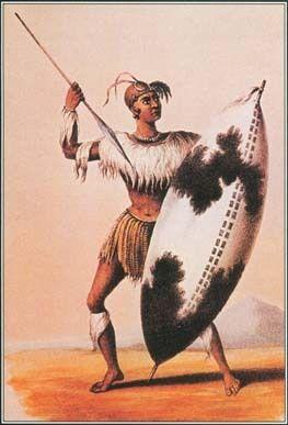 Shaka Zulu, born in the early 18th Century