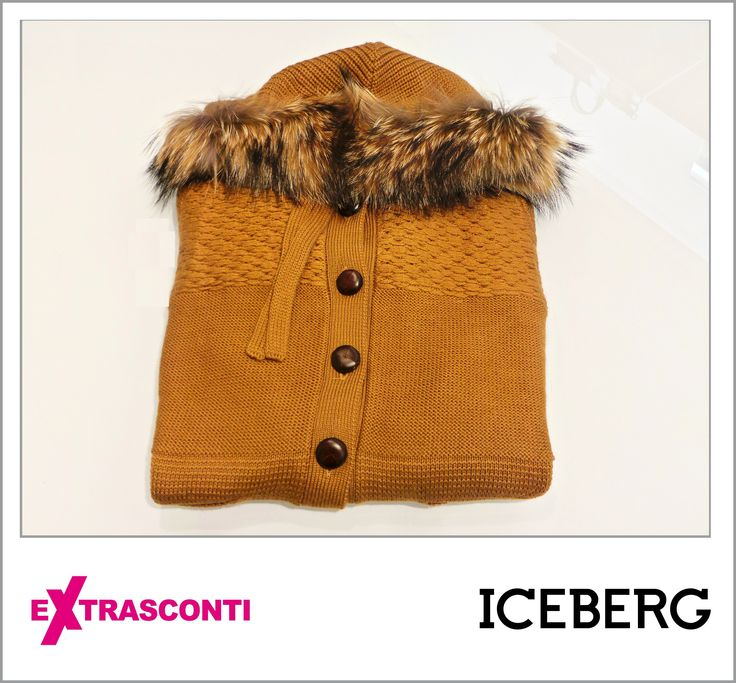 #Wool #sweater with #fur #neck / #Pullover in #lana con collo in #pelliccia - #Iceberg #Original price: 598,00€ #Outlet #price: 359,00€ #EXTRASCONTI PRICE: 107,70€ #Available at Iceberg - #store number 64. #Disponibili presso Iceberg - civico 64. http://www.palmanovaoutlet.it/it/outlet/negozi/iceberg-outlet