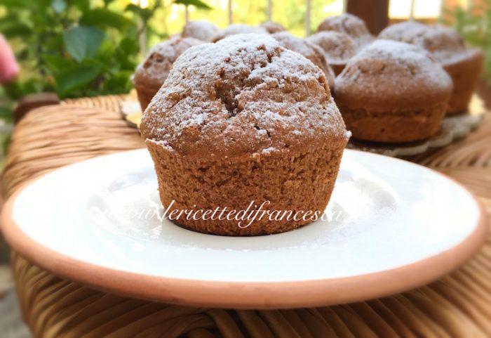 Muffin alla nutella | Ricette con la nutella