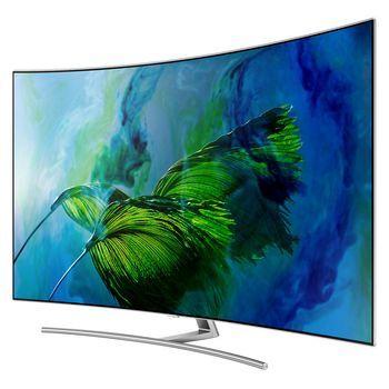 TV Samsung QE55Q8C QLED 4K 55' Curvo #tv #4k #tv4k