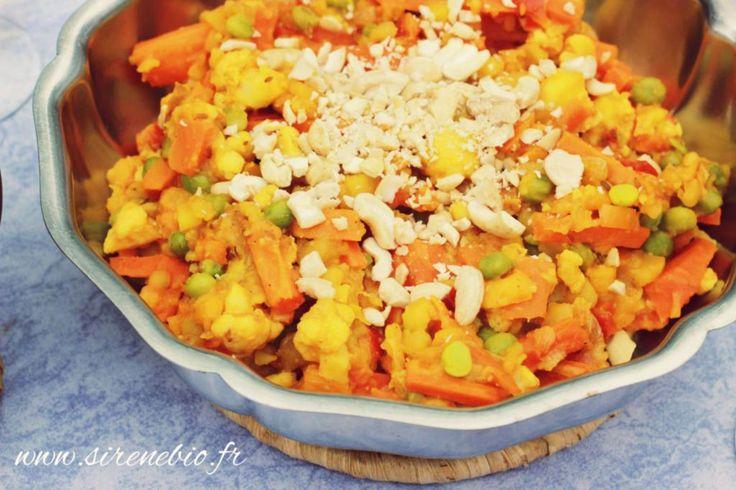 Recette végétarienne Indienne : Mijoté de légumes épicés