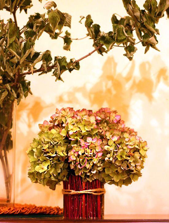 Twig Vase DIY