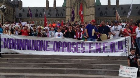 First Nations mount national day of resistance in several cities At heart of today's protests is frustration with First Nations education b...