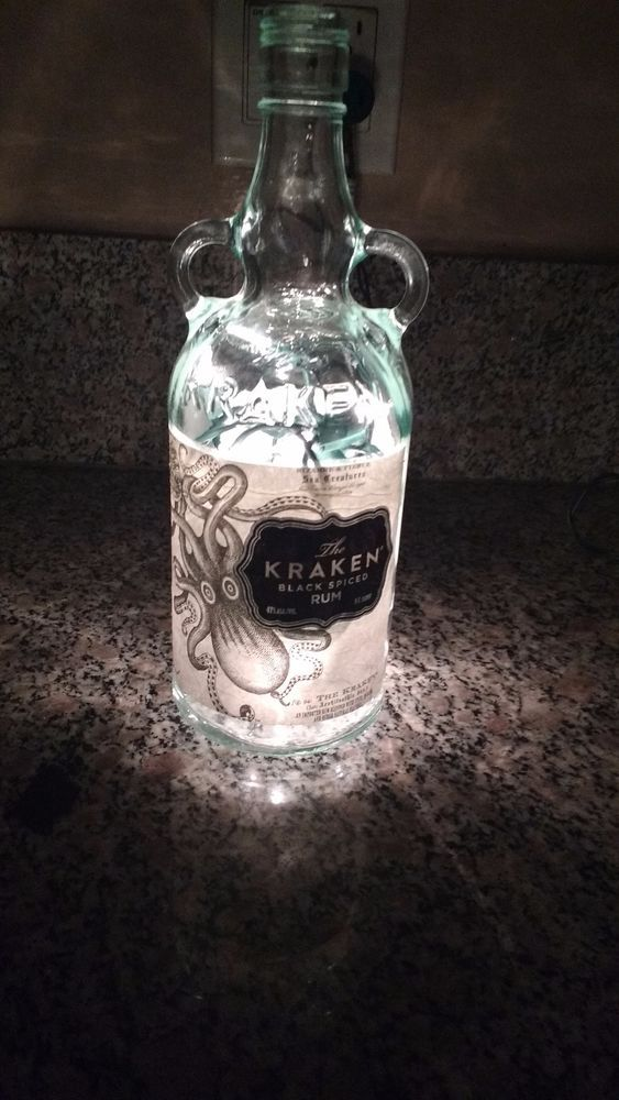 Details About Barware Bayou Rum 3 Bottle Electric Light Up