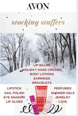 Christmas Stocking Stuffers made easy with AVON! #stockingstuffers #avonchristmas #christmasgifts #avonrep